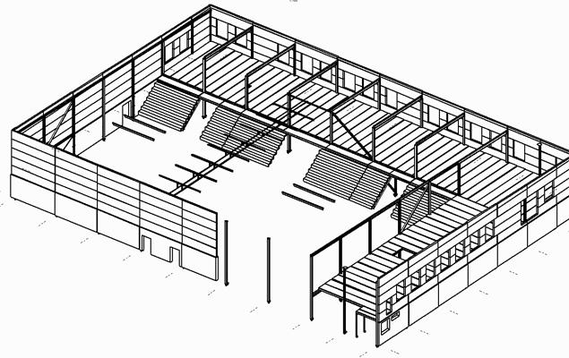 Ny sporthall i Lindome